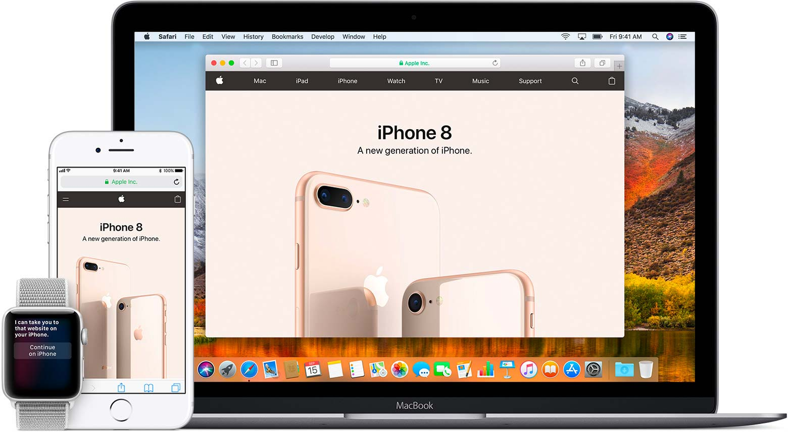 Mac a iOS
