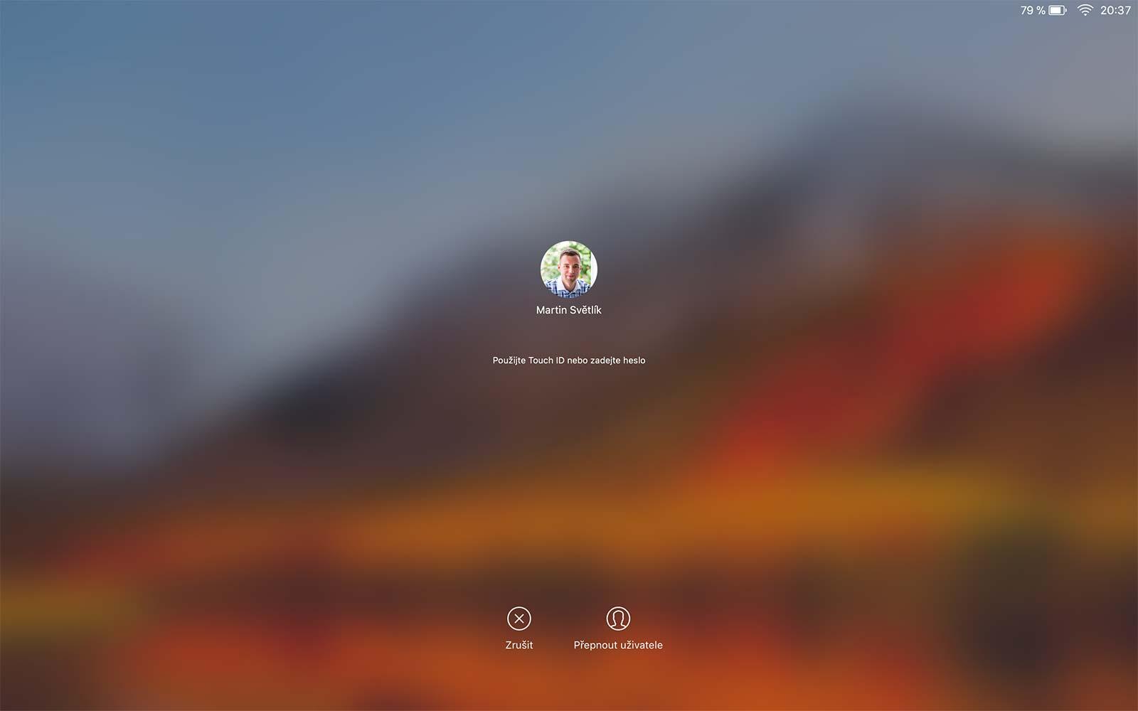 Zamčená obrazovka