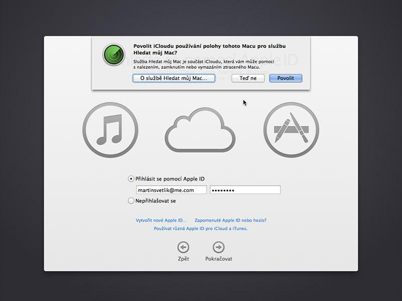 Hledat můj Mac