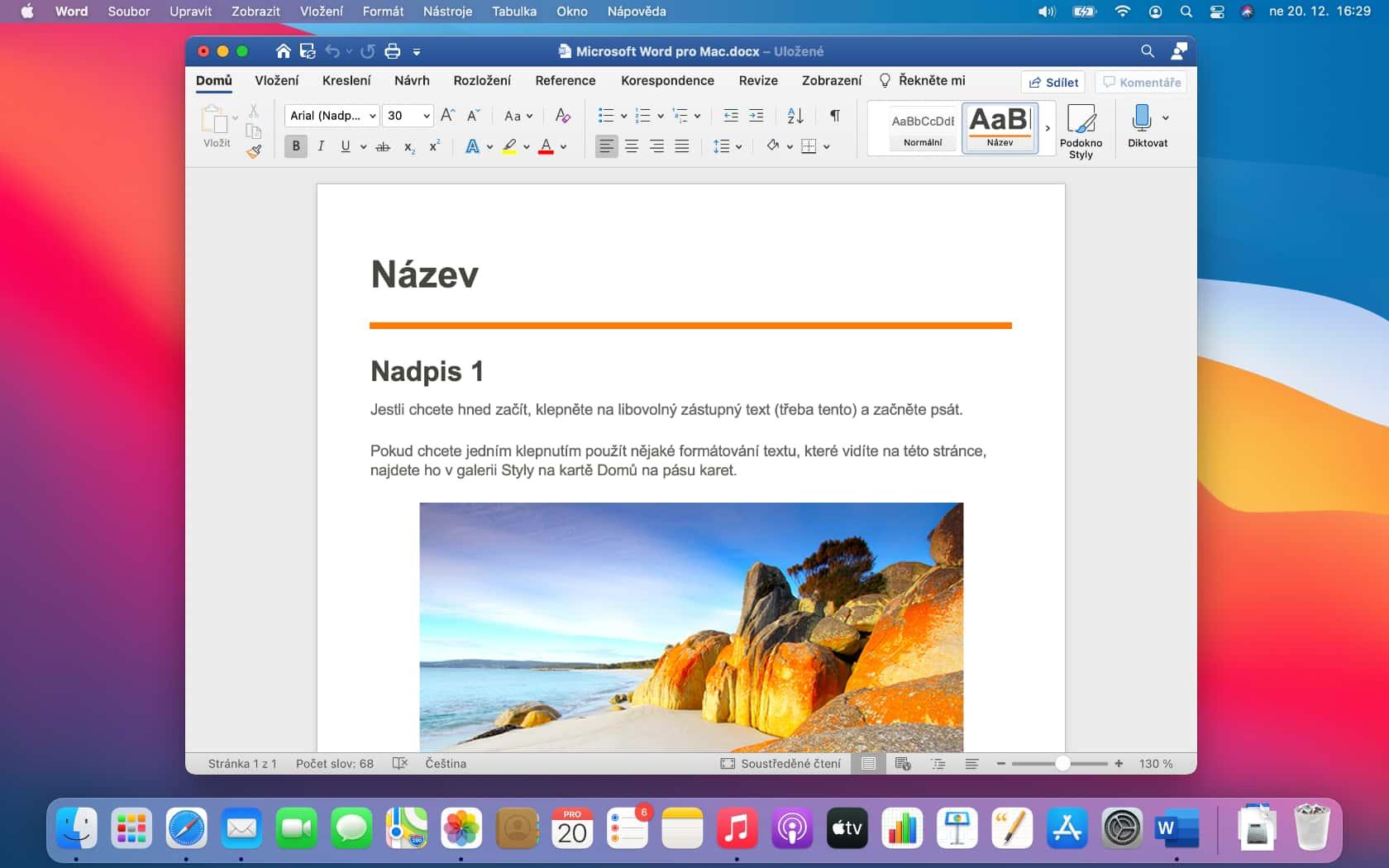 Microsoft Word na Macu